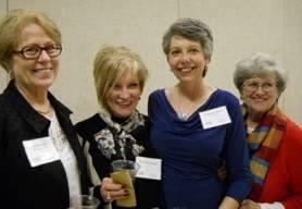 Pat Campbell, Pat Peppard and Karen Smith